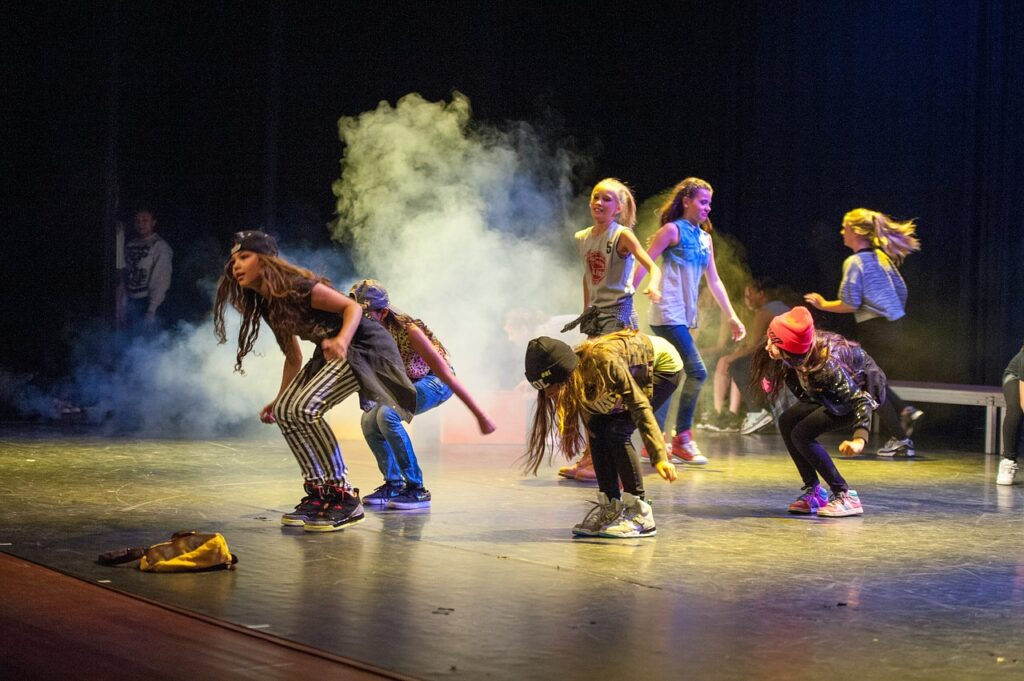 dance, hiphop, stage